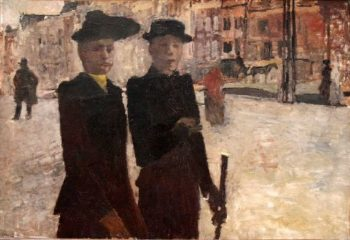 Women on the Rokin | George Heidrik Breitner | oil painting
