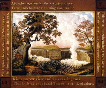 The Falls of Niagara | Edward Hicks | oil painting