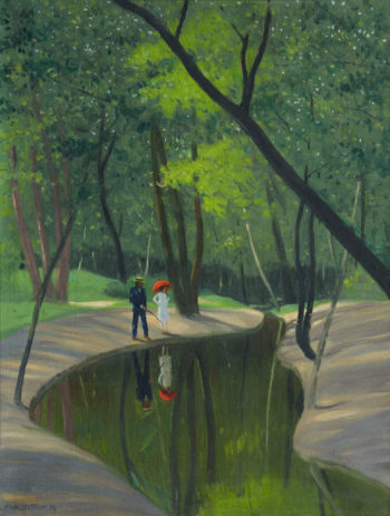 Forest of Boulogne | Felix Vallotton | oil painting