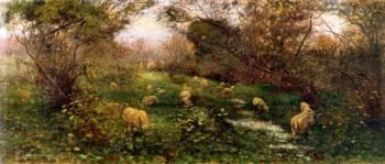 An Autumn Pastoral | Frederick McCubbin | oil painting