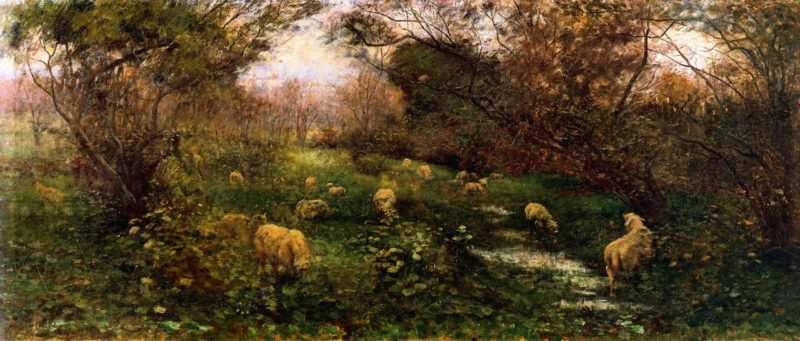 An Autumn Pastoral | Frederick McCubbin | oil painting