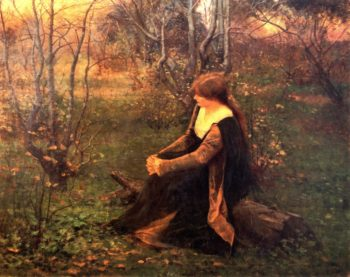 Autumn Memories | Frederick McCubbin | oil painting