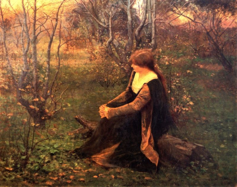 Autumn Memories   Frederick McCubbin   oil painting