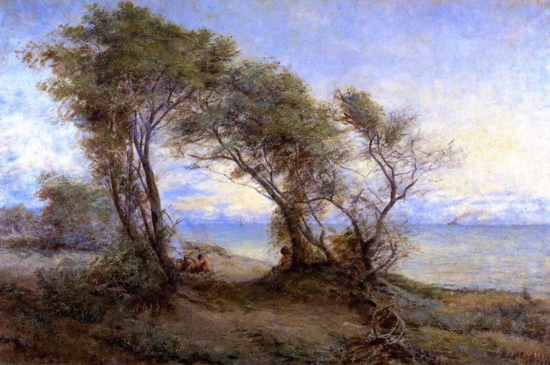 Brighton Beach   Frederick McCubbin   oil painting