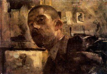Self portrait | George Heidrik Breitner | oil painting