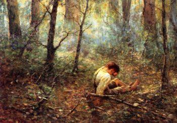Lost | Frederick McCubbin | oil painting