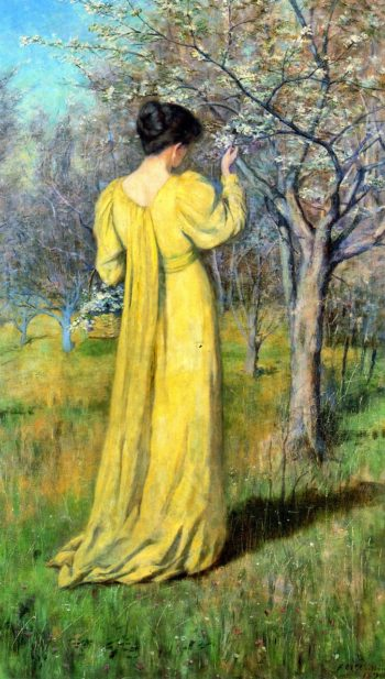 Spring | Frederick McCubbin | oil painting