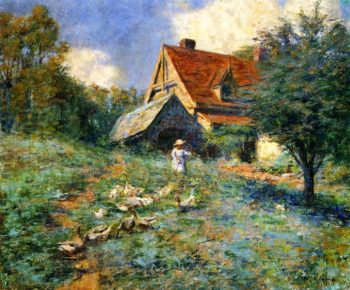 The Mountain Cottage | Frederick McCubbin | oil painting