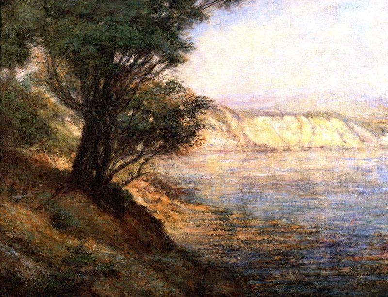 Ti Tree at Beauaris   Frederick McCubbin   oil painting