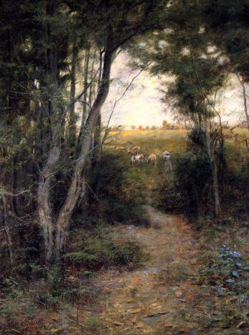 Ti Tree Glade | Frederick McCubbin | oil painting