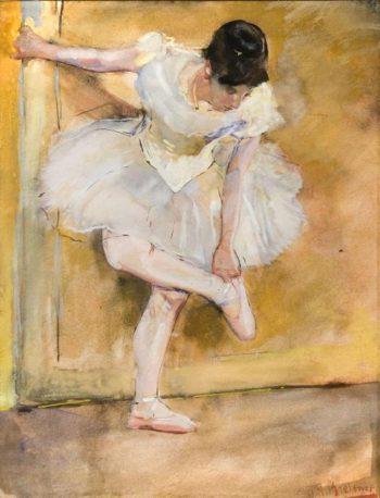 Ballerina | George Heidrik Breitner | oil painting