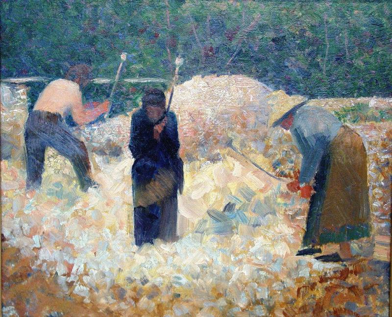 Rock Breakers Le Raincy | Georges Seurat | oil painting
