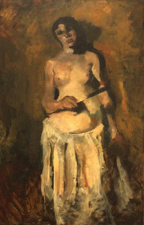 Female nude | George Heidrik Breitner | oil painting