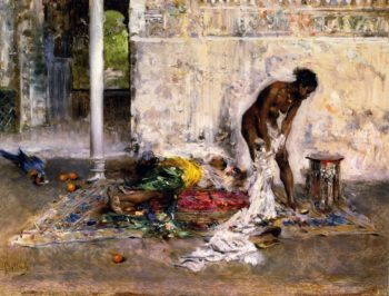 After the Bath | Giovanni Boldini | oil painting