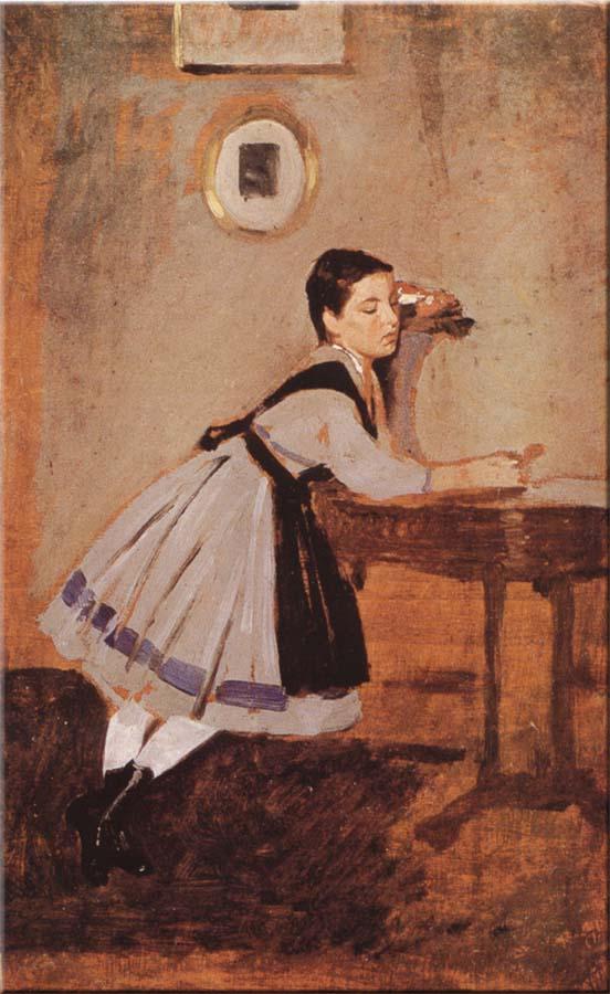 Alaide convalescente | Giovanni Boldini | oil painting