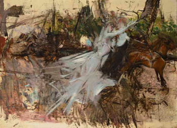 A Midsummer Night's Dream | Giovanni Boldini | oil painting
