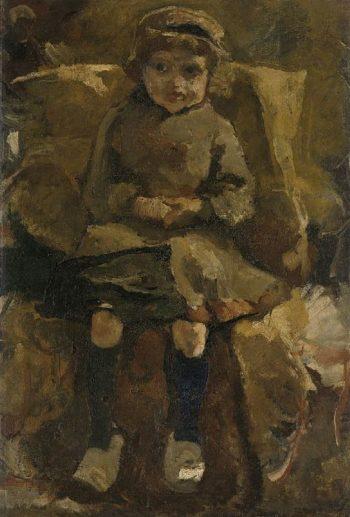The Wooden Shoes | George Heidrik Breitner | oil painting