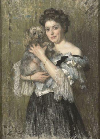 Maria Catharina Josephine Jordan | George Heidrik Breitner | oil painting