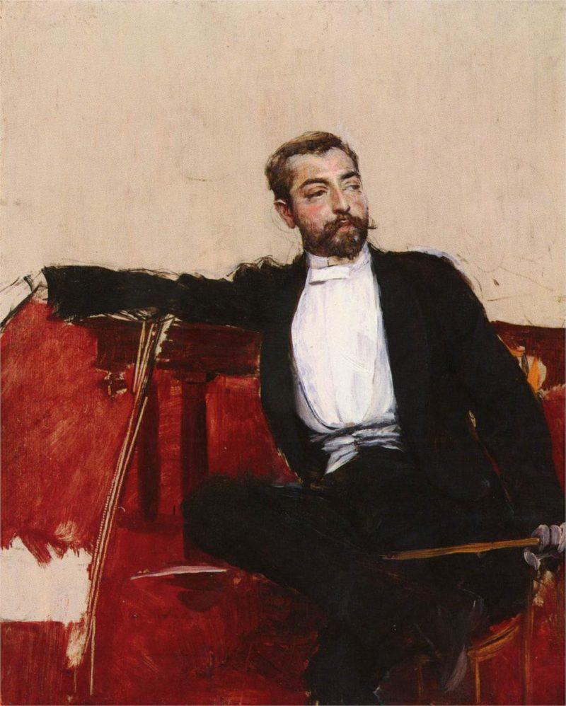 A Portrait of John Singer Sargent | Giovanni Boldini | oil painting