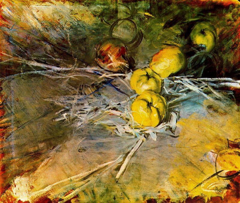 Apples   Giovanni Boldini   oil painting