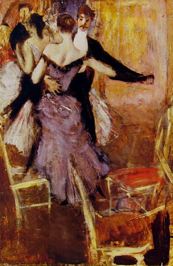 Ballerina in Mauve | Giovanni Boldini | oil painting
