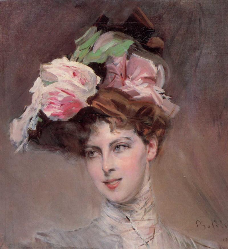 Beatrice Susanne Henriette van Bylandt | Giovanni Boldini | oil painting