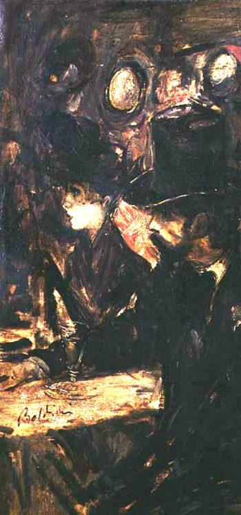 Chez Maxim's | Giovanni Boldini | oil painting