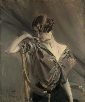 Cleo de Merode | Giovanni Boldini | oil painting