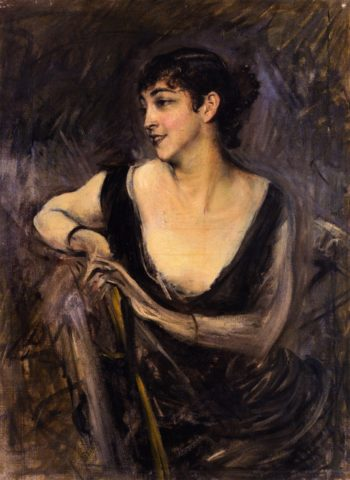 Countess Gabrielle de Rasty | Giovanni Boldini | oil painting
