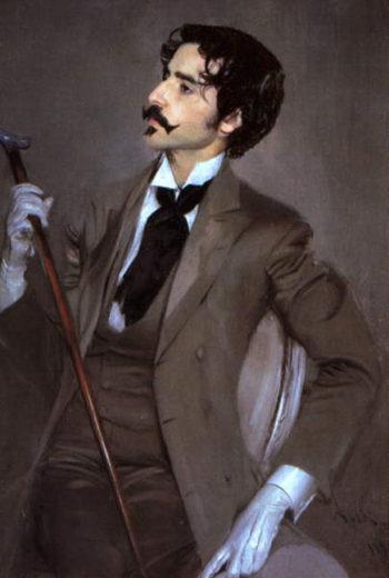 Count Robert de Montesquiou 1 | Giovanni Boldini | oil painting