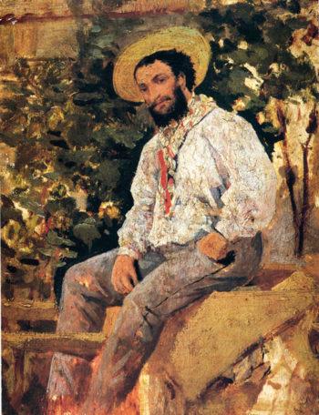 Diego Martielli in Castiglioncello | Giovanni Boldini | oil painting