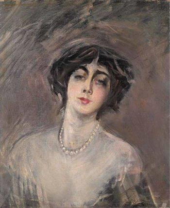 Donna Franca Florio | Giovanni Boldini | oil painting