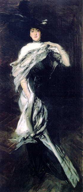 Edith Stuyvesant Dresser Vanderbilt | Giovanni Boldini | oil painting