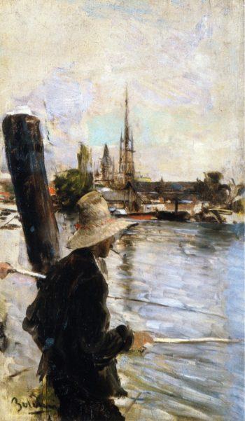 Fishermen   Giovanni Boldini   oil painting