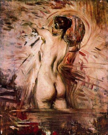 In the Bath | Giovanni Boldini | oil painting