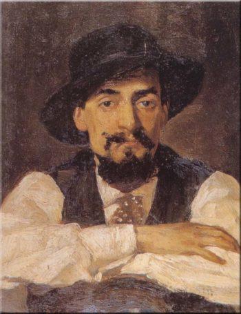 L'amico Andrea Vendeghini | Giovanni Boldini | oil painting