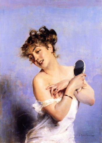 La Toilette | Giovanni Boldini | oil painting