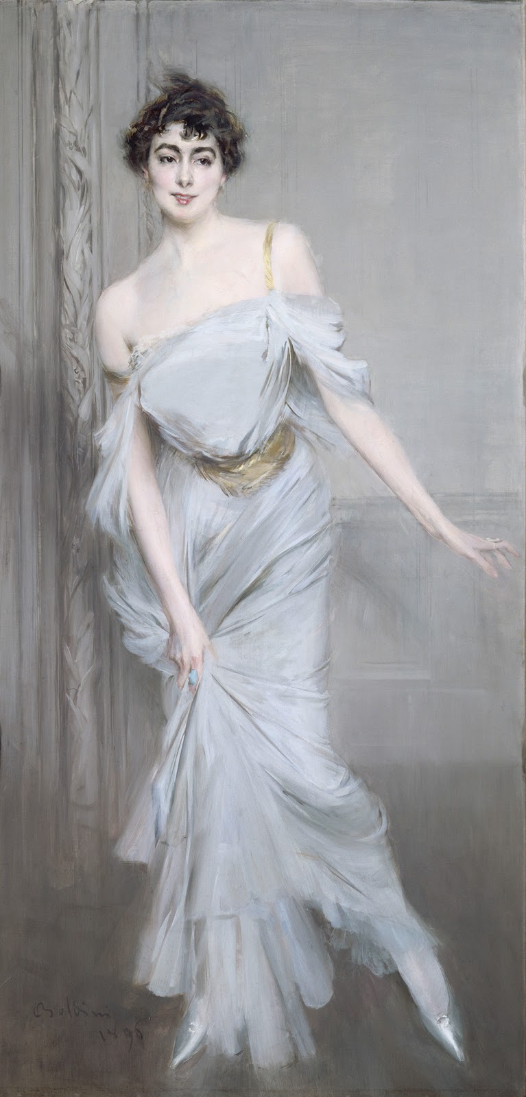 Madame Charles Max | Giovanni Boldini | oil painting