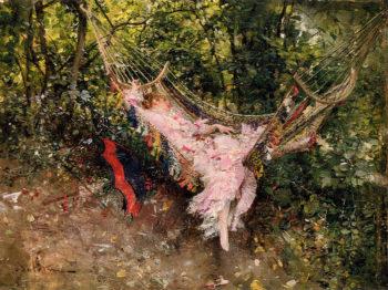 The Hammock   Giovanni Boldini   oil painting