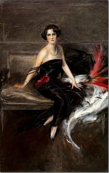 The Marquesa de Pinar del Rio   Giovanni Boldini   oil painting
