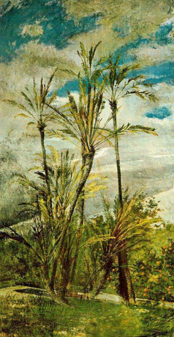 Wall Paintings of Falconiera 1 | Giovanni Boldini | oil painting