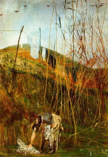Wall Paintings of Falconiera | Giovanni Boldini | oil painting