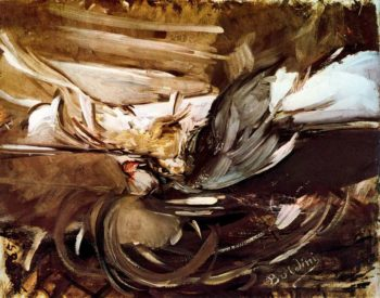 Wild game in Black | Giovanni Boldini | oil painting