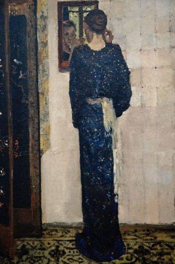 The earring | George Heidrik Breitner | oil painting