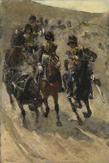 Horse Artillery | George Heidrik Breitner | oil painting