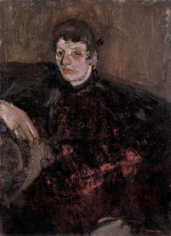 Portrait of Marie Breitner | George Heidrik Breitner | oil painting
