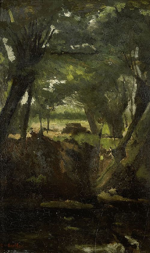 Forest View | George Heidrik Breitner | oil painting