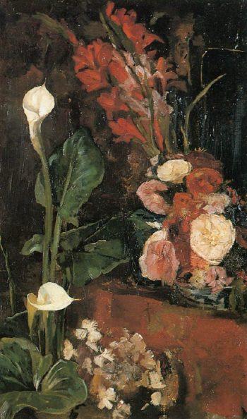 Flowers | George Heidrik Breitner | oil painting