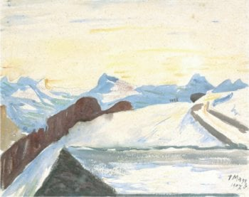 Il Roven | Giovanni Giacometti | oil painting