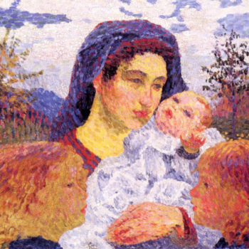 Mother | Giovanni Giacometti | oil painting
